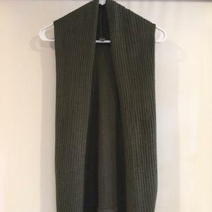 Forever 21 Hunter Green Knit Vest